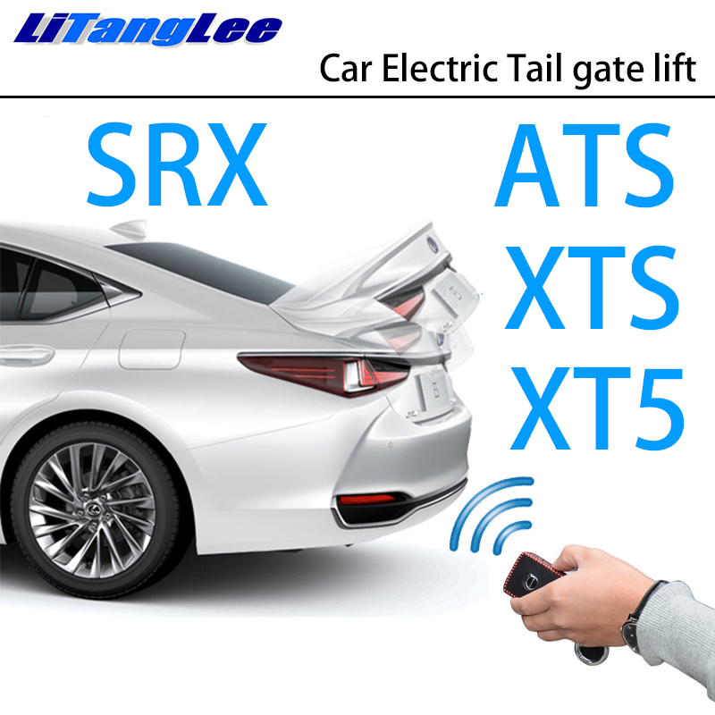 LiTangLee Car Electric Tail Gate Lift Trunk Rear Door Assist System For Cadillac ATS XTS SRX XT5 Original Car Key Remote Control