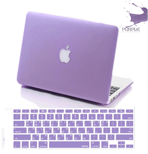 check out a57f9 b2d62 US $15.39  computer accessories purple laptop case protective shell mac air  book/ mackbook pro Case cover air retina 11 13 15 notebook case-in Laptop  ...