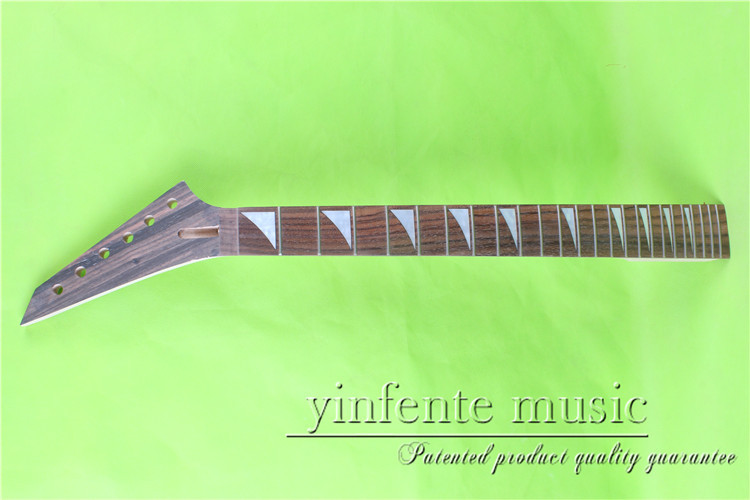Yz-0087# 25.5 Electric Guitar Neck Bolt On Rosewood Fingerboard Fine Quality 24 Fret Security & Protection