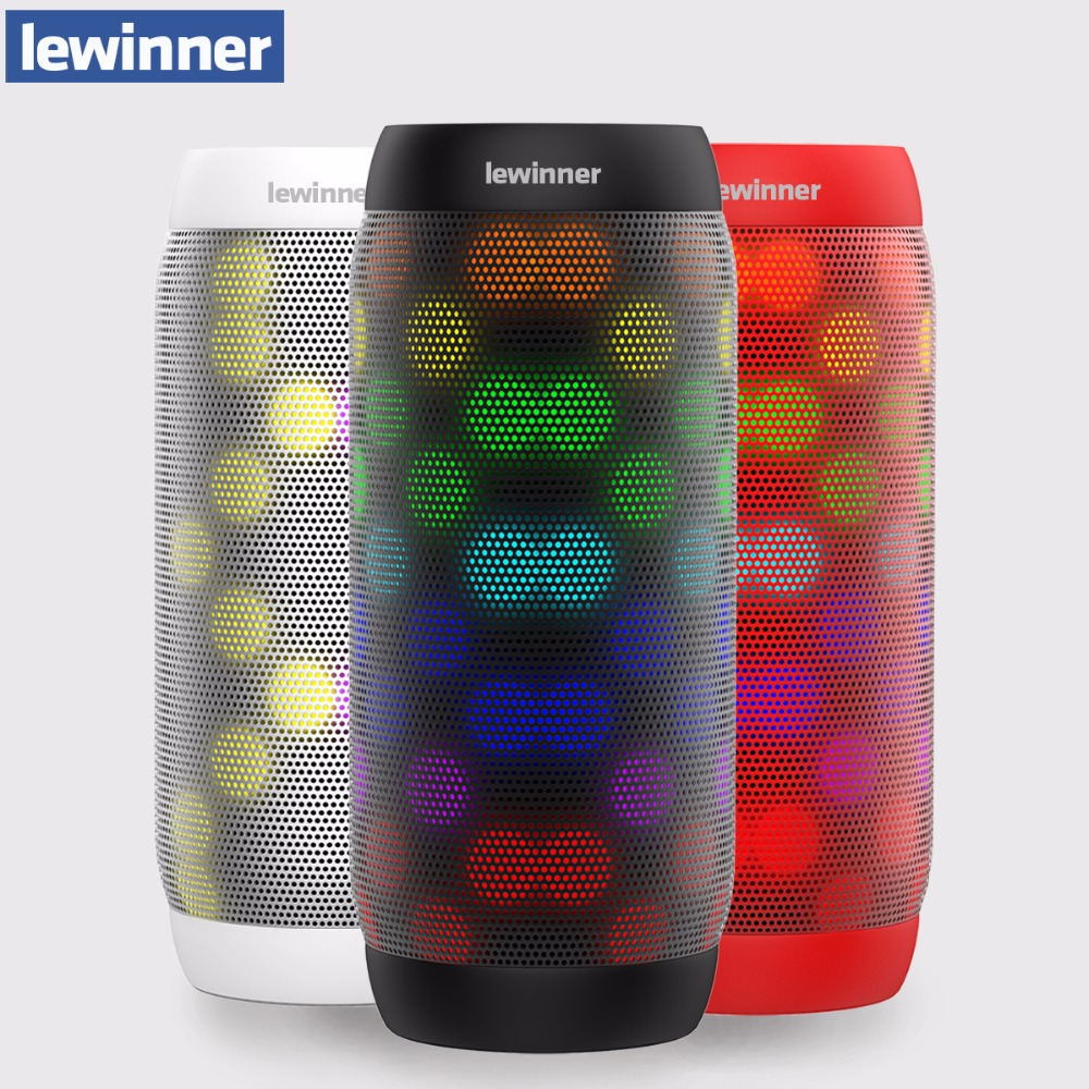Lewinner bq615 про мини Bluetooth Динамик Портативный Беспроводной Динамик дома Театр вечерние Динамик звук Системы 3D музыке стерео