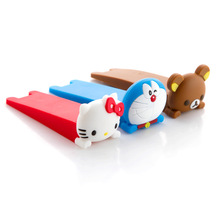 New Arrival Kids Cartoon Animal Child Safety Door Stopper Baby Safety Seguridad Products Silicon Doorstop Door Clip