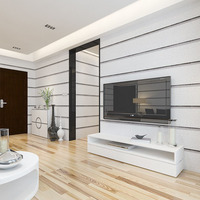 PVC Waterproof Stripe Wallpaper 3D Stereoscopic Imitation Marble Wall Paper Roll Modern Living Room TV Backdrop Wall Covering 3D