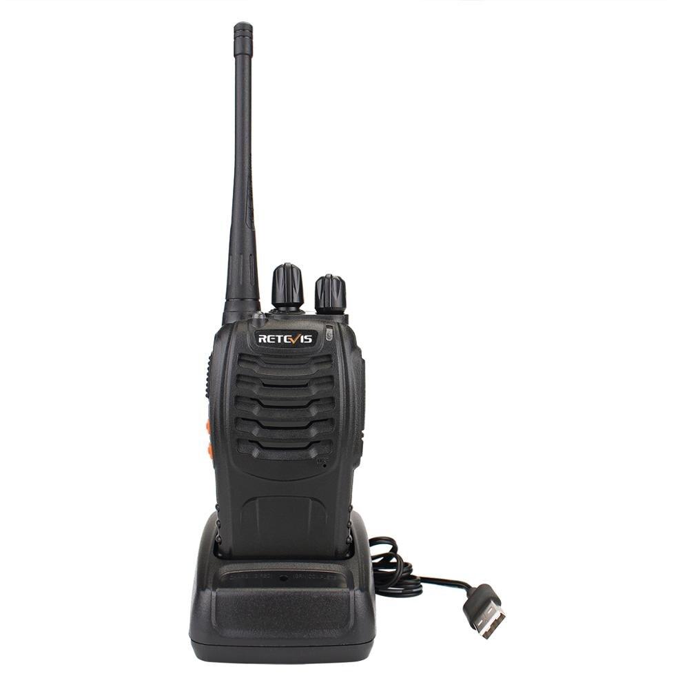 10pcs Portable Two Way Radio Walkie Talkie Retevis H777 Hotel Restaurant Radio 3W UHF Flashlight USB Charging Walkie Talkies Set in Walkie Talkie from Cellphones Telecommunications