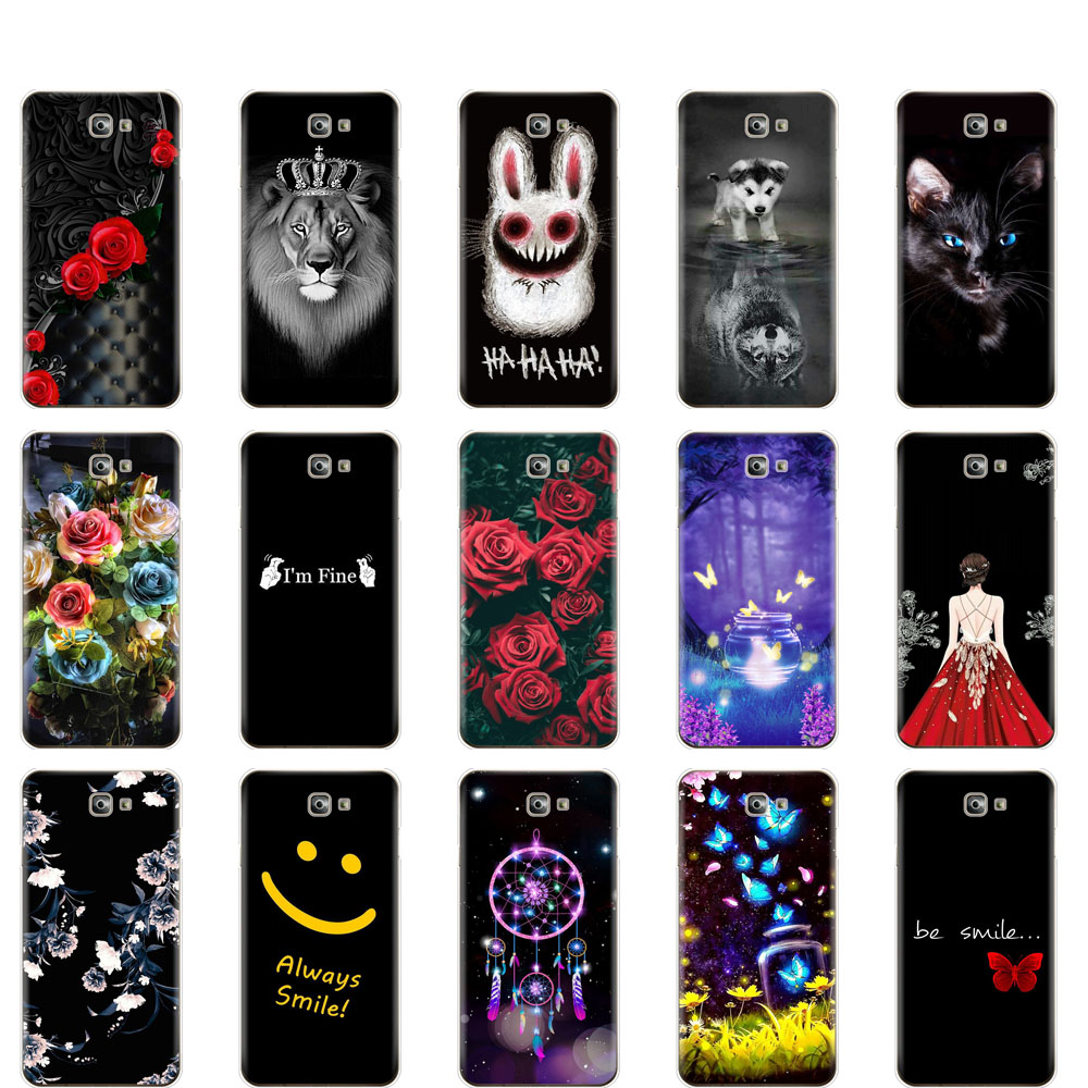 case For Samsung J7 Prime 2 Case 5.5 inch Silicone Soft coqa For Samsung Galaxy J7 Prime 2 funda Cover G611 G611F 2018 shell bag image