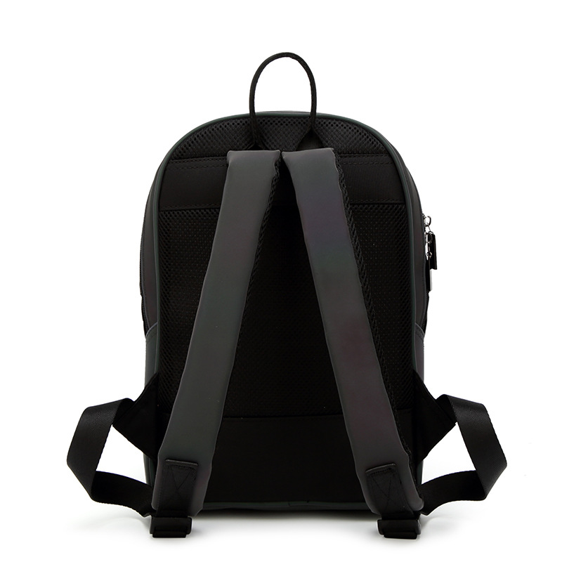 Newest Backpack Noctilucent Women Fashion Bags Laser Lattice Geometric Luminous Backpack For Teenage Girls School Bags #4