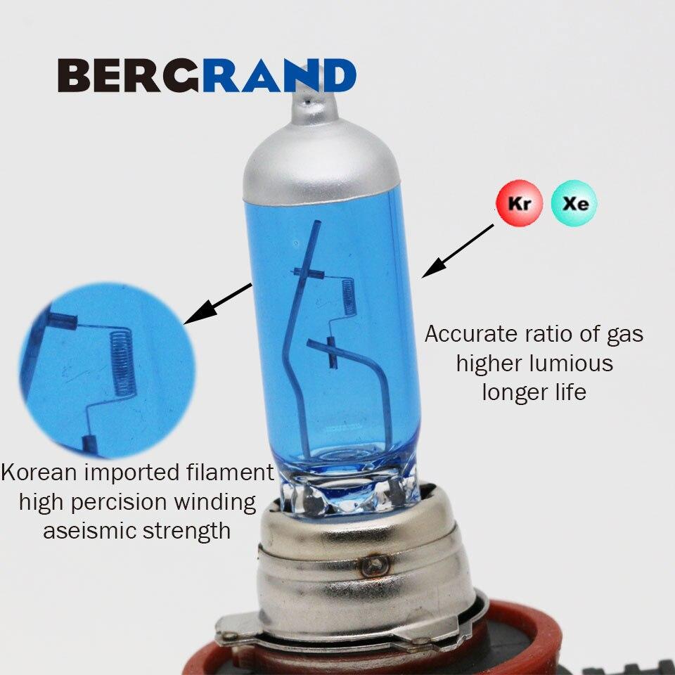 H16 12 V 19 W Halogeenlamp Mistlampen Xenon 4300 K Koplamp Super Wit - Autolichten - Foto 3