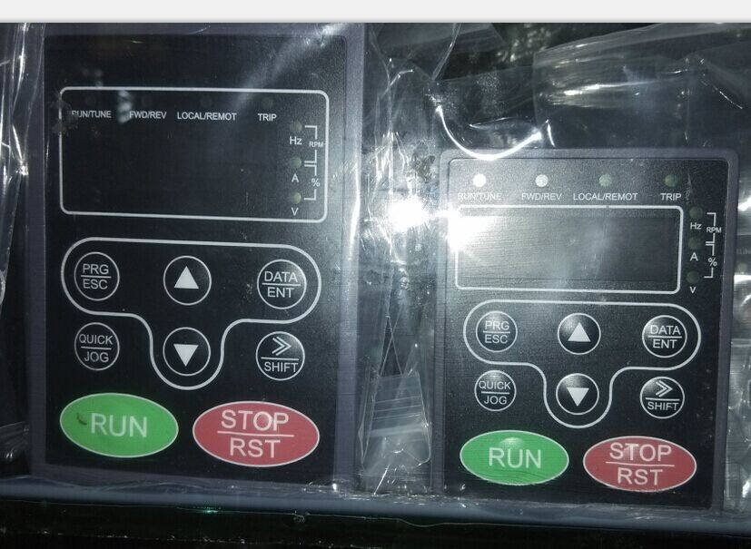 Original chf-100 , chf100a , che series inverter operation panel original inverter fc51 series operate panel lcp 12 132b0101