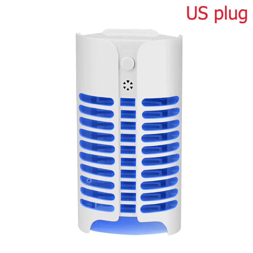 Светодиодный Электрический фонарь от комаров, светильник, Ночной светильник, Анти Москитная Ловушка-Отпугиватель США/ЕС, походный светильник, 8 типов - Цвет: blue