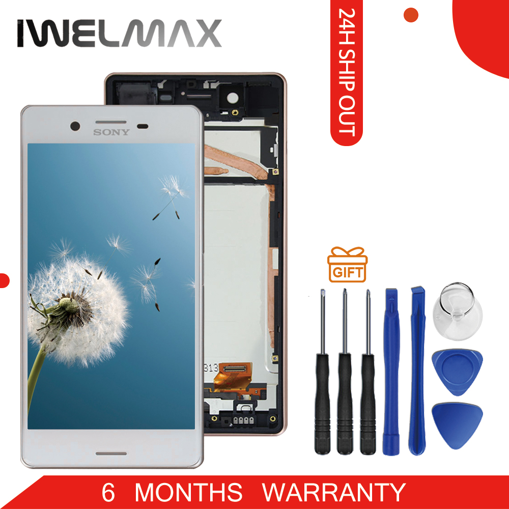 Warranty 5.0'' 1920x1080 Display For Sony Xperia X LCD with Touch Screen Digitizer Assembly For Sony Xperia X LCD F5121