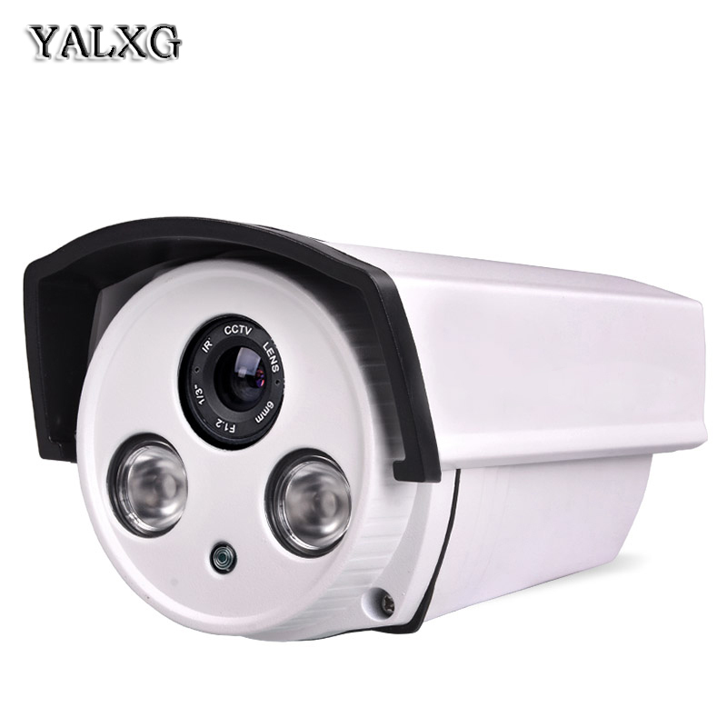 Yalxg Home Security cctv Alarm System 720P/960P HD Mini IP IR-Cut Night Vision Waterproof Camera P2P ONVIF H.264 NVR home security system 16ch h 264 motion detect camera system dvr kit with 800tvl waterproof outdoor ir night vision cctv camera