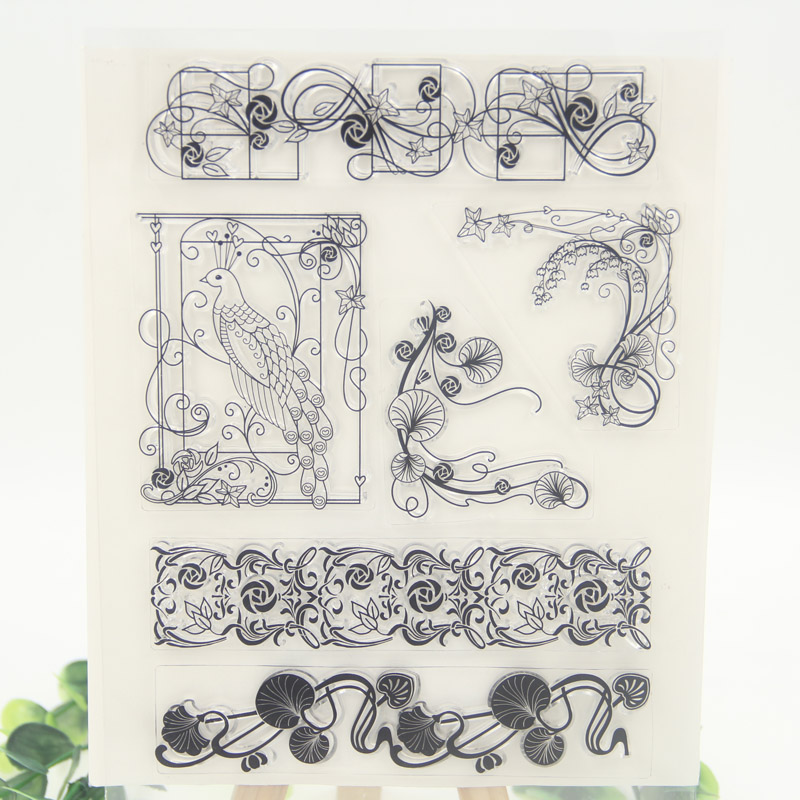 Flowers Transparent Clear Silicone Stamp/Seal for DIY scrapbooking/photo album Decorative clear stamp sheets wish list transparent clear silicone stamp seal for diy scrapbooking photo album decorative clear stamp sheets