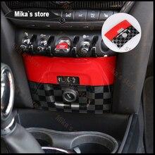 ABS מצית pannel מסגרת לקצץ כיסוי מדבקה עבור מיני קופר F60 countryman רכב סטיילינג פנימי מדבקה לרכב קישוט
