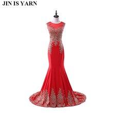 Длинные кружевные вечерние платья красные платья русалки платья полуофициального стиля плюс размер вечерние платья Портной