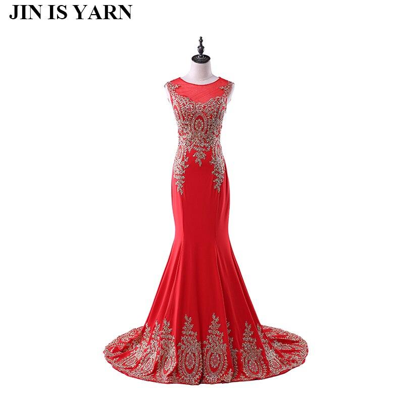 Livraison gratuite longue dentelle robes de soirée rouge sirène robes semi formelle robes de grande taille robes de soirée tailleur