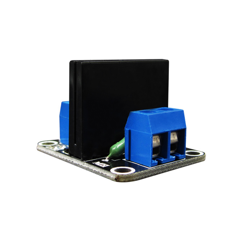 5V 1 Channel SSR G3MB-202P Solid State Relay Module 240V 2A Output with Resistive Fuse 2017 new 250v 2a 8 channel omron ssr g3mb 202p solid state relay module for arduino mfbs