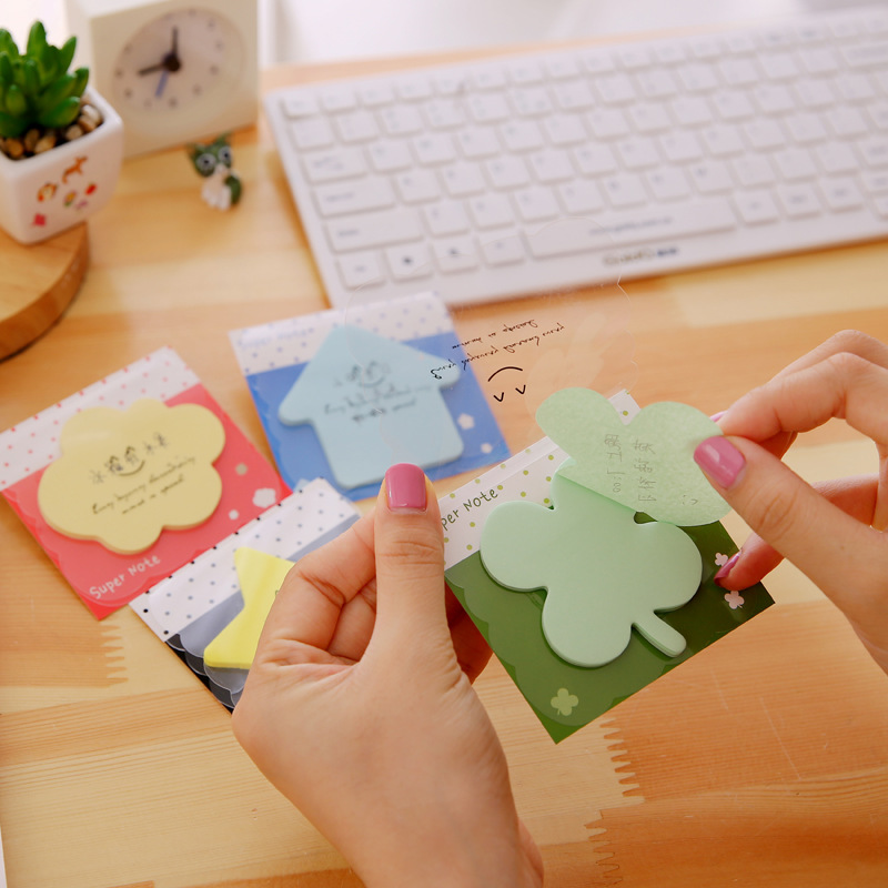 80 pcs/Lot Cute post stickers Wholesale sticky notes Kawaii stationery Memo pad Office material school supplies Zakka F460