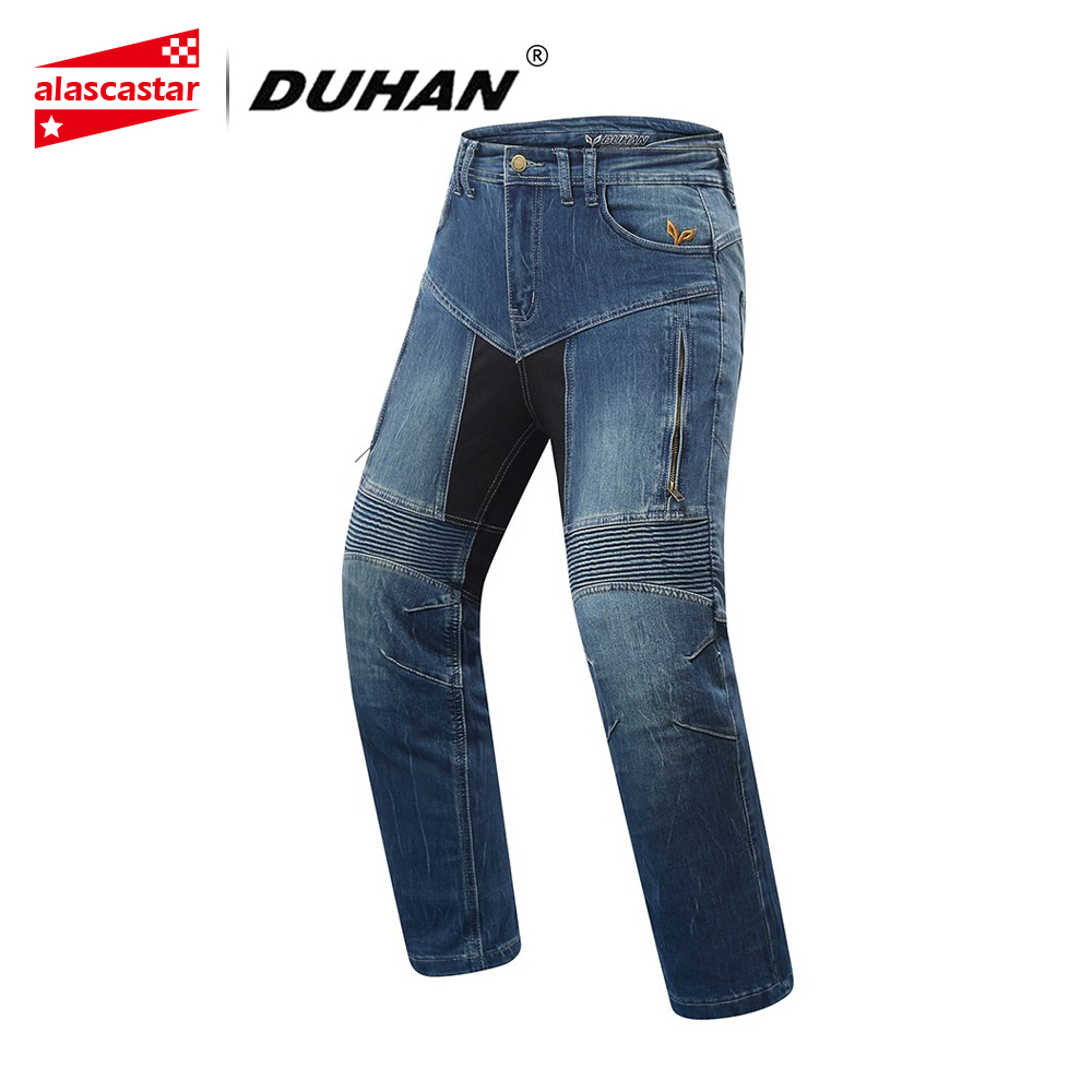 DUHAN Motorcycle Pants Women Motorbike Jeans Motocross Riding Pants Pantalon Motocross Protection Motorsiklet Jeans Trousers nonis women jeans full length light flared trousers slim denim pants high waist jeans 2017 autum female pantalon plus size