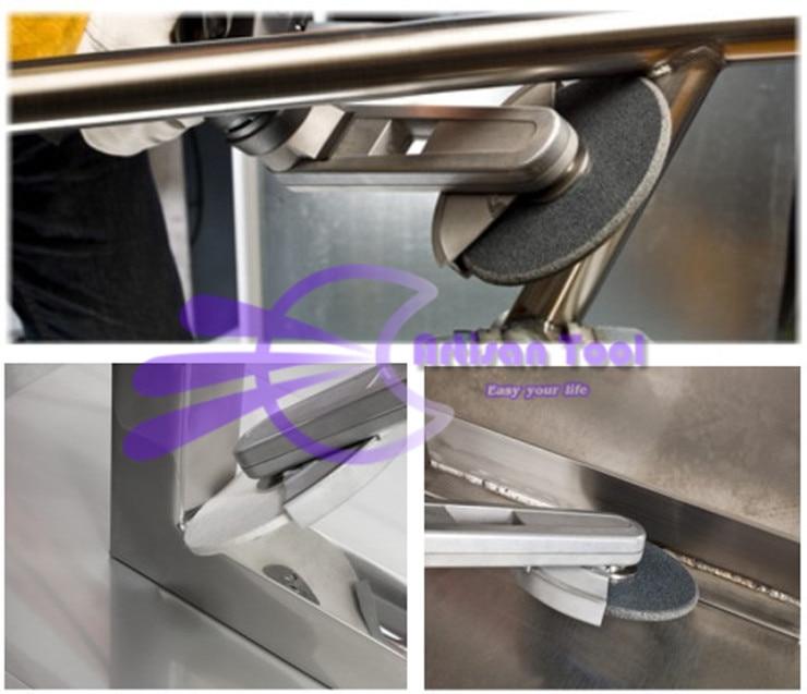 Levigatrice abrasiva per smerigliatrice a filetto per lucidatura - Utensili elettrici - Fotografia 3