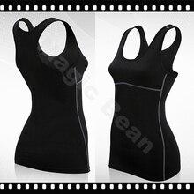 Dry Quick gym t shirt compression tights font b women s b font sport t shirts