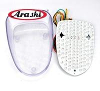Arashi For YAMAHA Vstar CLASSIC 1998 2008 LED Rear Brake Tail Light Turn Signal Running Tail Light 2007 2006 2005 2004 2003 2002