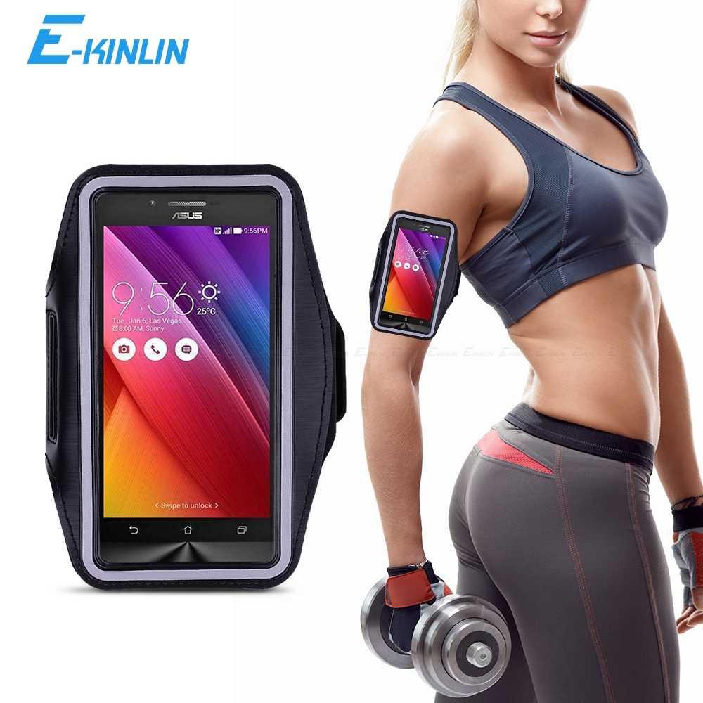 Spor Salonu Koşu Egzersiz Çantası Kılıfı Kol Bandı Asus ZenFone GO TV ZC451TG ZB551KL ZC500TG G500KL G550KL Telefonu Kemer çanta kılıfı