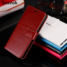 Snzvok PU Leather Phone Case For Huawei Honor 8 V8 Note 8 Stand Flip Wallet Case For Huawei Honor 7 7i 6 5X 5A 4X 4A 4C Enjoy 6