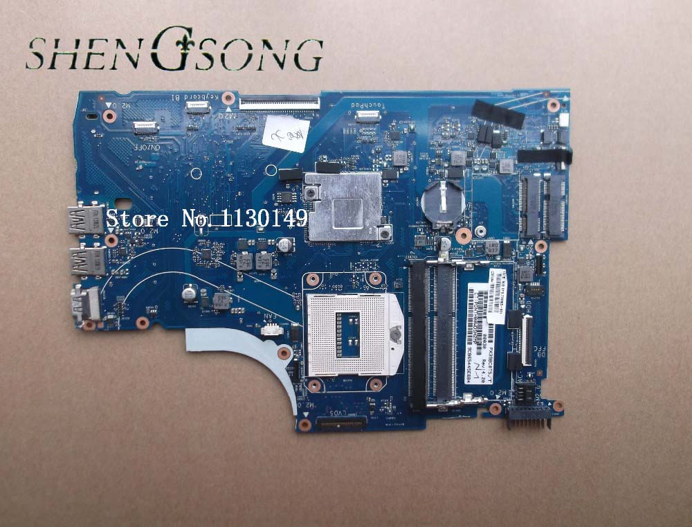 720565-001 Free shipping 720565-501 board for HP envy15 15-J000 15T-J000 15T-J100 series laptop motherboard with HM87 chipset nokotion 720566 501 720566 001 laptop motherboard for hp envy 15 15t j000 15t j100 hm87 ddr3l gt740m 2gb gpu