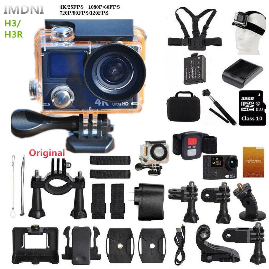 bilder für IMDNI Action kamera 4 Karat/25fps DV CAM neue 2017 Original Dual screen