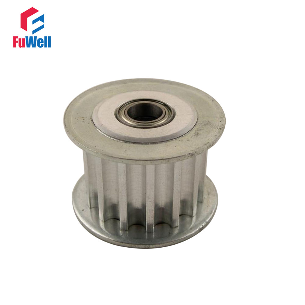 2pcs HTD5M 20T Idler Pulley 20 Teeth 5/6/7/8/10/12/15mm Bore Timing Idle Pulley 16/21/27mm Belt Width Bearing Synchronous Wheel2pcs HTD5M 20T Idler Pulley 20 Teeth 5/6/7/8/10/12/15mm Bore Timing Idle Pulley 16/21/27mm Belt Width Bearing Synchronous Wheel