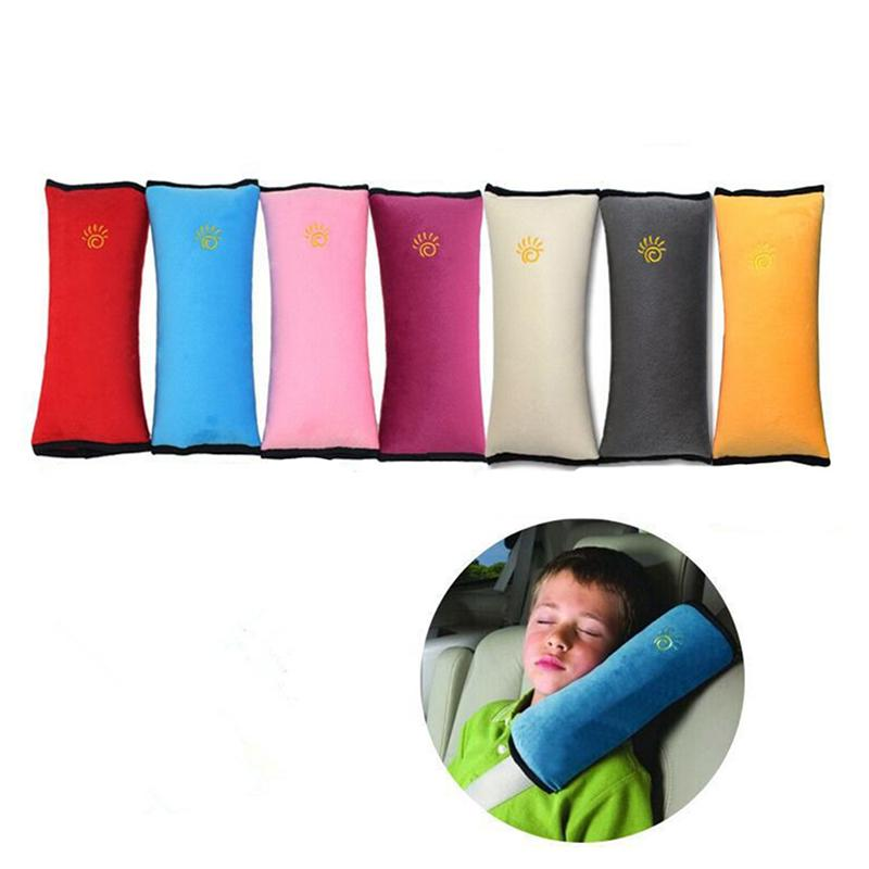 Baby Car Auto Safety Seat Belt Harness Shoulder Pad Cover Children Protection Car Covers Car Cushion Support Car Pillow