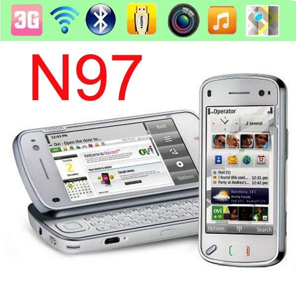 bilder für Original nokia n97 32 gb handy entsperrt 3g wifi 5mp gps smartphone & ein jahr garantie