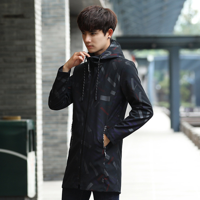 Men Coat Spring Jacket...