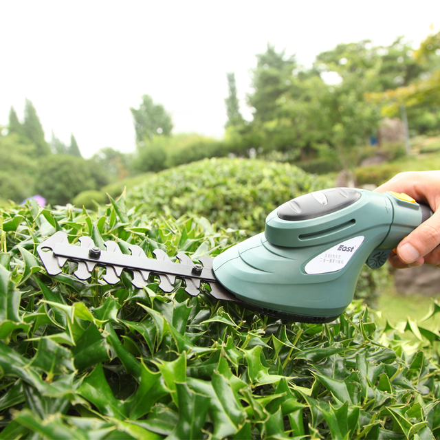 East ET2903 3.6V 3in1 Li Ion Cordless Electric Hedge Trimmer Grass ...