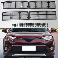 Car Insect Screening Mesh Front Grille Insert Net For Toyota RAV4 RAV-4 2016 2017 2018