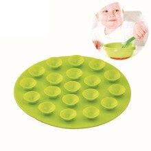 Младенцы и детская посуда для присоски Двусторонняя присоски магия силикагель силиконовый коврик Рождественский подарок