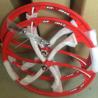Russian Wholesale A pair of wheels 26 inches mountain bike wheel bicycle accessories lowest whole network