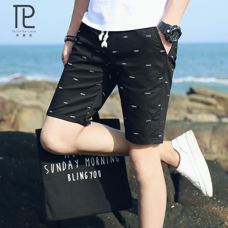 Mens Clothing Shorts Bermuda Male Casual Summer Fashion Cotton Dot B56 Comfortable