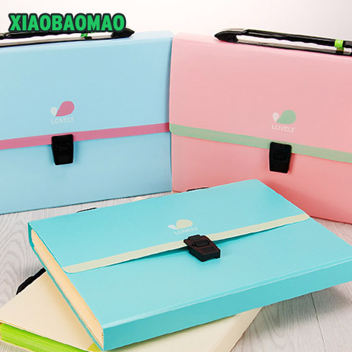 School Office Tons Waterproof Expanding Wallet Convenient Category Management Folder Square Folders Package Expanding Walle