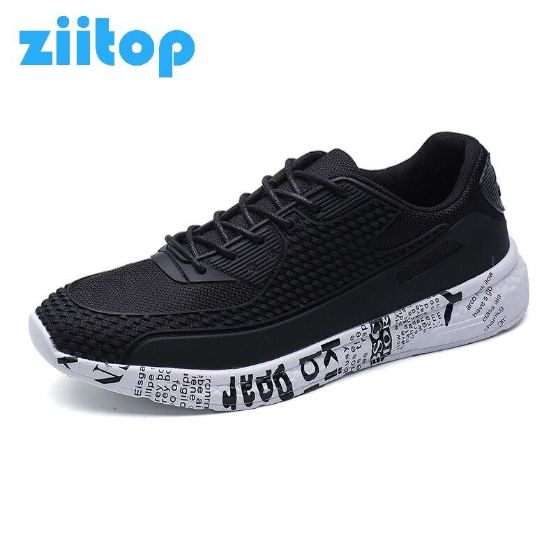 Nuevas zapatillas para los hombres súper ligero athletic zapatos corrientes de l