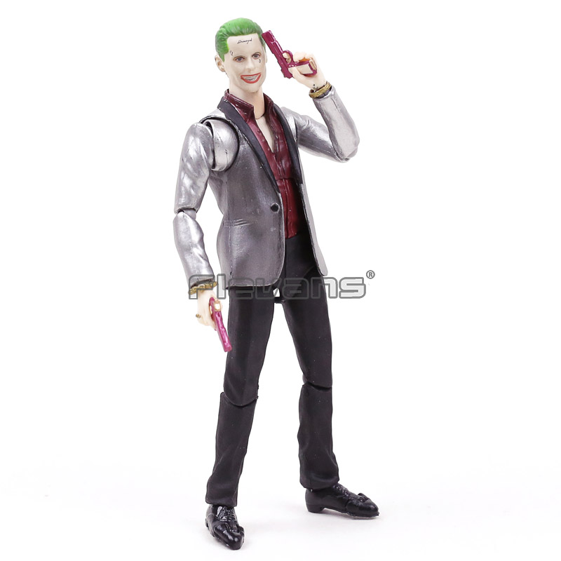 SHF S.H.Figuarts DC Comics Suicide Squad The Joker PVC Action Figure Collectible Model Toy dc comics super heroes superman pvc action figure collectible model toy gift for children 7 18cm free shipping