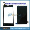 """Высокое Качество 4.5 """"для Micromax Bolt D320 ЖК-Экран И Черный Сенсорным Экраном Дигитайзер Датчик Запчасти Бесплатная Доставка"""