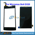"""Top Quality 4.5"""" For Micromax Bolt D320 LCD Screen Display And Black Touch Screen Digitizer Sensor Repair Parts Free Shipping"""