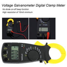 Digital clamp meter AC DC Multimetro Resistenza Voltmetro Amperometro Ohm di Corrente Tester di Tensione DT3266L tenuto in Mano clamp meter(China)