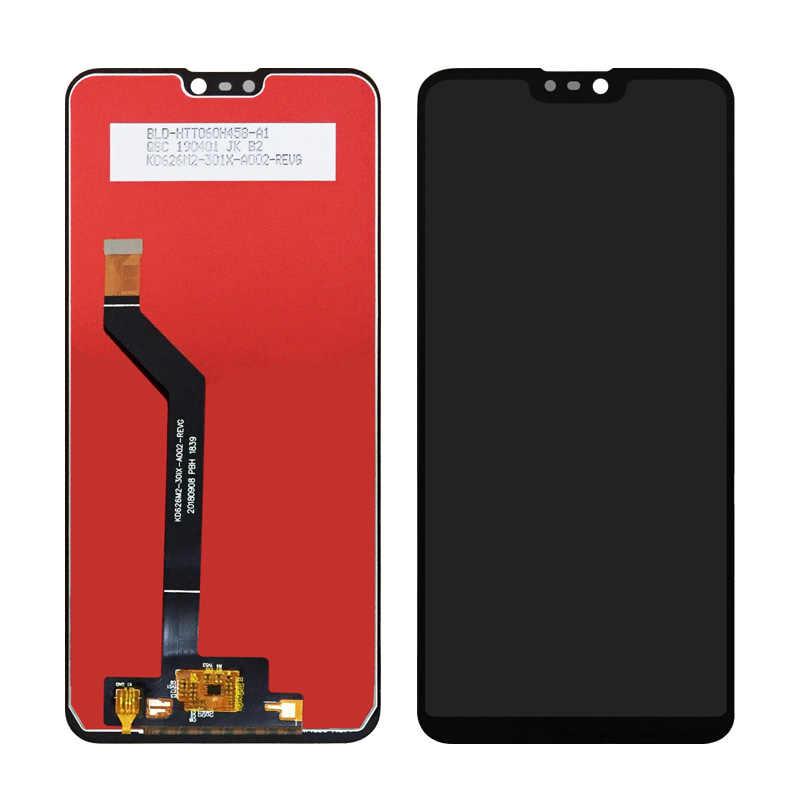 100% اختبار 6.3 ''ل آسوس Zenfone ماكس برو (M2) ZB630KL/ZB631KL كامل شاشة الكريستال السائل + مجموعة المحولات الرقمية لشاشة تعمل بلمس + أدوات مجانية