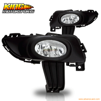 For 03 04 05 Mazda 3 4 Dr Sedan OE Fog Lights Clear Wiring Kit Included USA Domestic Free Shipping