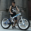 26inch Mountain Bicycle Fat Tires 4 0 Snow Fold Frame Off Road Bike Front Rear Double