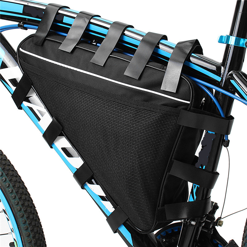 36V 48V Mountain Bike Triangle Li-ion Battery Storage Bag Electric Bicycle Lithium Battery Triangle Battery Bag Cover