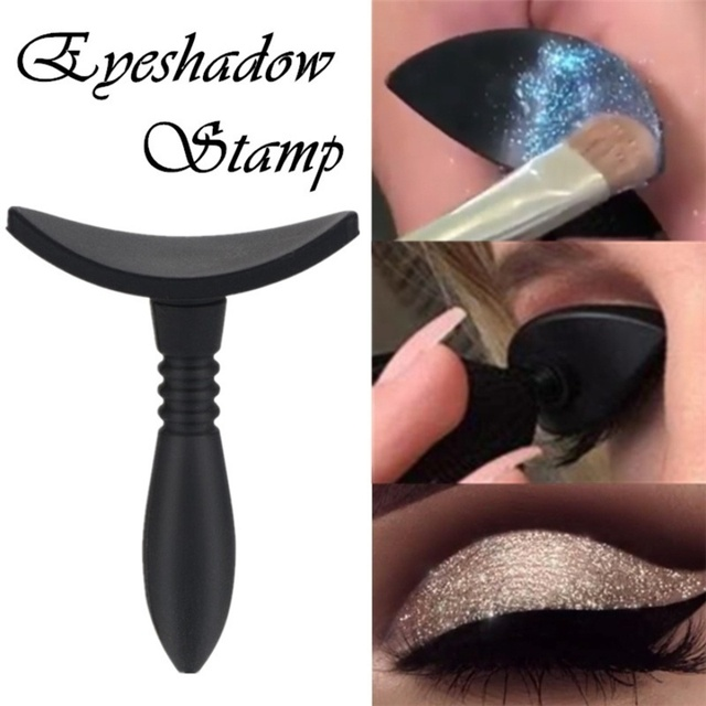 1 Pc Lazy Silicon Eye Shadow Stamp Eyeshadow Stamp Glittering Lazy Applicator Silicon Eyeshadow Seal Makeup Tools 3
