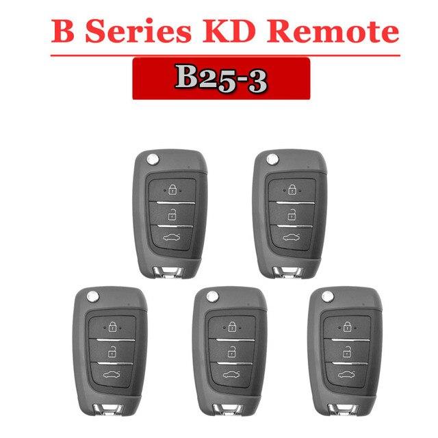 KEYDIY KD Remote B25 KD900 Remote  Control 3 Button B Series Remote Key for URG200/KD900/KD200  Machine (5Pcs/Lot)