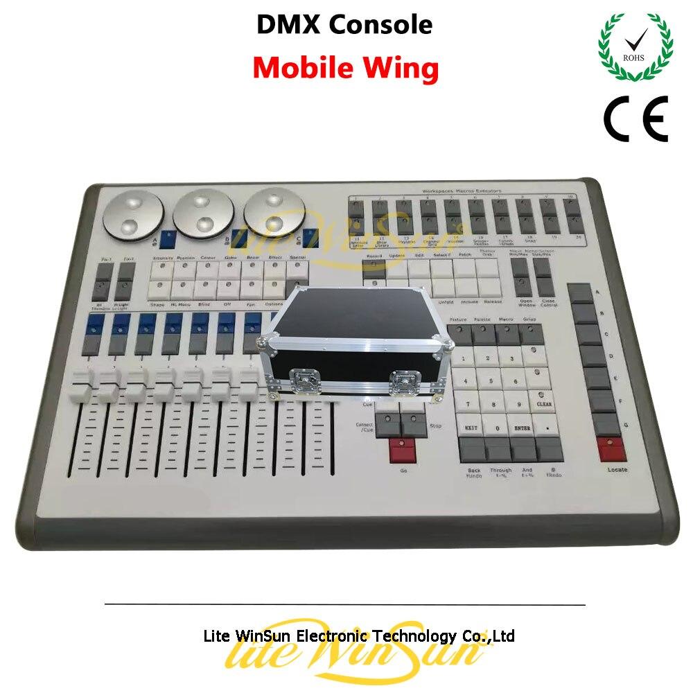 Litewinsune aile Mobile DMX Console MIDI Timecode USB alimenté Titan Net processeurs avec étui de vol gratuit